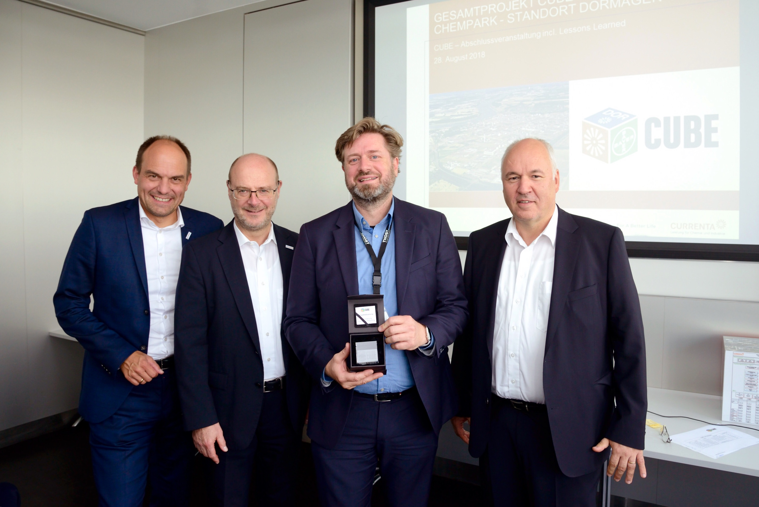 CURRENTA and Bayer honor THOST for successful project management