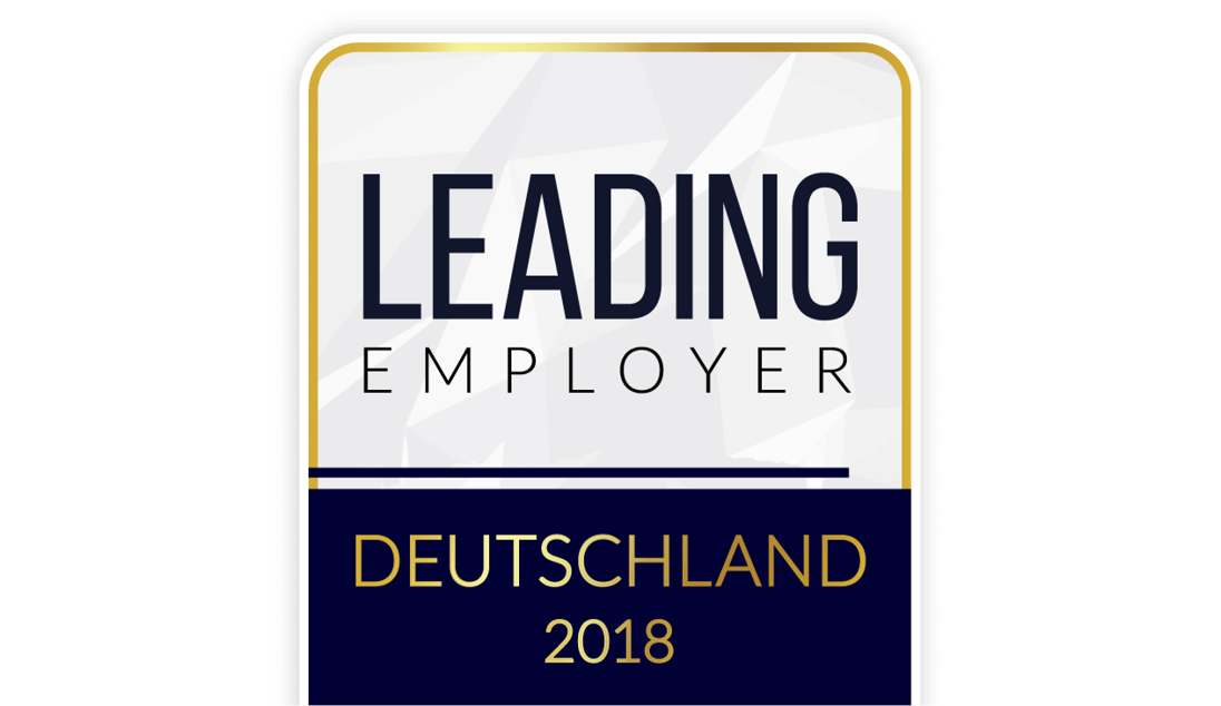 Auszeichung LEADING EMPLOYER